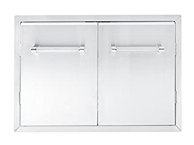 "KitchenAid 780-0018 Cabinet Double Access Door, 33"", Stainless"