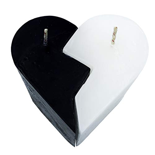 Belafi - Vela de Corazón con Aroma Ideal Regalo de Pareja o Novios de Aniversario y Cumpleaños