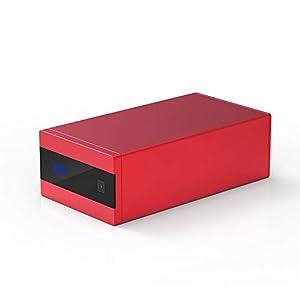 S.M.S.L Sanskrit 10th MKII 32bit/192kHz USB/optical fiber/Coaxial to Analog Audio Decoder Red