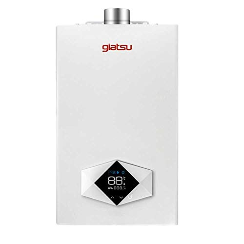 Giatsu - Calentador Estanco de Gas Butano de 12 Litros Bajo NOx...