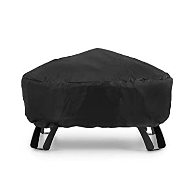 blumfeldt Oreos Weather Protection Raincover Cover - Rain Protection Oreos 2-in-1 Fire Bowl and Grill, Material: Nylon 600D, Tearproof, Waterproof, Washable, Black from Blumfeldt