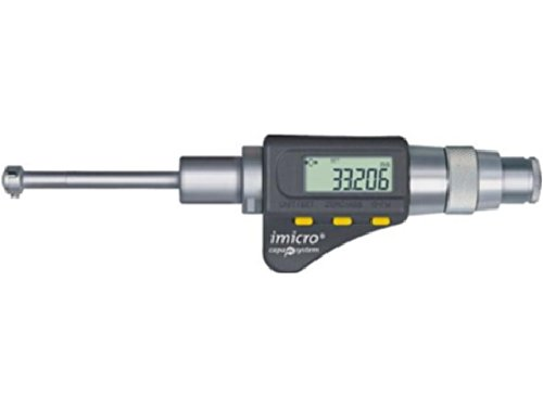 Tesa 06130120IMICRO capa µ sistema de micrómetro con pantalla digital, 90mm/100mm Rango de medición, 5µm máxima admisible error