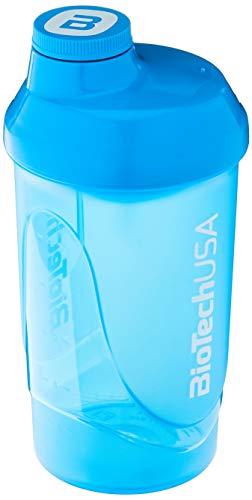 Biotech Shaker per Frullati di Proteine, Blu - 600 ml