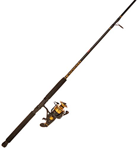 Penn Spinfisher V 6500 Fishing Rod and Spinning Reel Combo, Surf, 10 Feet, Heavy Power, 2-Piece