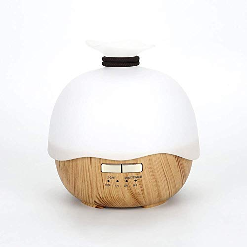 LFSP luchtbevochtigers olie diffuser Classic ultrasone aromatherapie machine, grote capaciteit stille luchtbevochtiger essentiële olie diffuser intelligent power off zeven kleuren nachtlampje