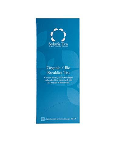 Solaris Tea Bio - English Breakfast, 40 Seidenteebeutel, 1er Pack (1 x 80 g)