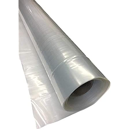 Pollytunnel Sheeting Greenhouse Clear Plastic Film Foil Cover VARIOUS-LENGT Tool