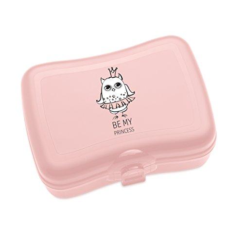 koziol Lunchbox Eli, Kunststoff, powder pink, 12.2 x 16.8 x 6.6 cm