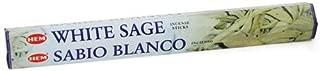 White Sage HEM Stick Incense 20gms by Sage Cauldron
