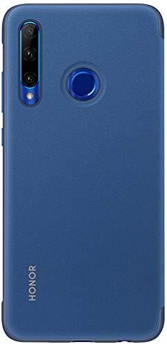 Honor 20 Lite 128 GB Smartphone BUNDLE mit 32MP AI Selfie Kamera (6,21 Zoll), AI Triple Kamera, Dual-SIM, Android 9.0) Phantom Blue + gratis Flip Cover [Exklusiv bei Amazon] - Deutsche Version - 6