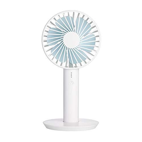 2000Mah Mini Ventilateur De Poche Portable Miroir De Brumisation Ventilateur De Refroidissement Personnel Avec Mobile support pour téléphone Pour Voyage À Domicile Bureau