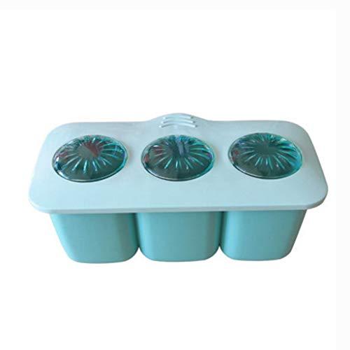 STRAW Botella de plástico condimento, Cocina Sal Azúcar Tanque de Almacenamiento Caja de Almacenamiento del hogar Condimento Condimento Botella