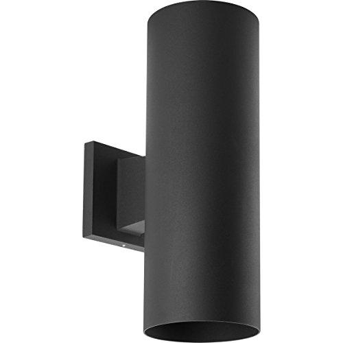 """Progress Lighting P5675-31 Cylinder Outdoor, 5"""" x 14"""", Black"""