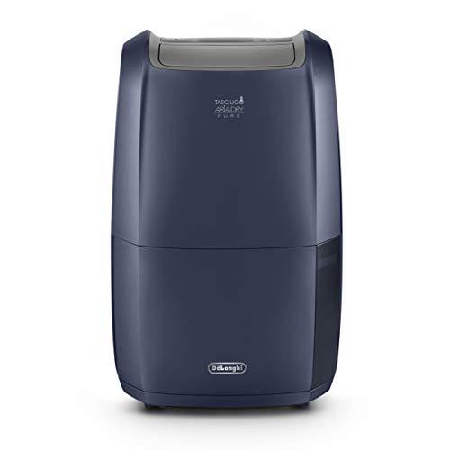 De'Longhi Luftentfeuchter Tasciugo Ariadry Pure DDSX220WF – elektrischer Raumentfeuchter und Luftreiniger App-Steuerung & Wäsche-Funktion, für Allergiker geeignet, umweltfreundlich, blau, 21 L
