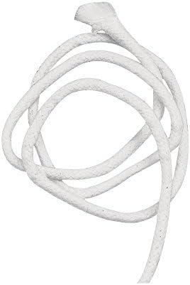 Kerzenherstellung Zubeh/ör f/ür Party DIY Zuhause 15 Meter Exceart Lampendocht Garten Kerosin-Lampen-Seil Ersatz-Docht aus Baumwolle