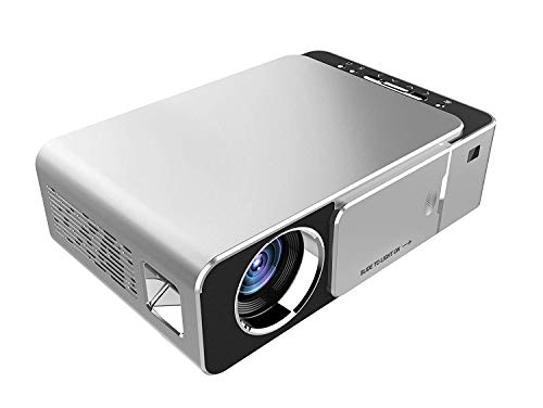 Projector,2500 Lumens Mini LED Portable HD Multimedia Home Theater Video Projectors 1080P Support for Home Cinema,Movie,Game,TV,Laptop,Fire Stick,Smartphone
