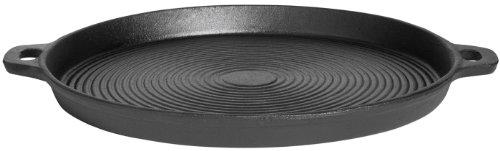 Gusseisenkuss Pfanne aus Gusseisen, Schwarz, Ø 35 cm