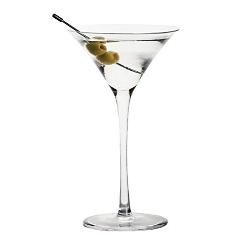 Verres Margarita Cup Martini Cup Verre À Cocktail Verre Personnalité Bar Coupe Set Champagne (Color : Clear, Size : V)