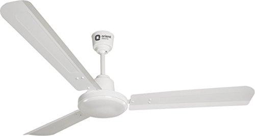 Orient Electric Energy Star 47 Inch 48 Watt Energy Saver Ceiling Fan (Crystal White)