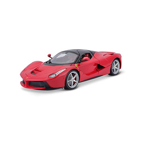 Maisto- Bburago France 16901R LaFerrari Signature Séries-Rouge-Echelle 1/18