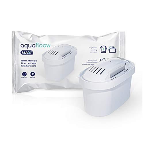 Wasserfilter Kartuschen Aquafloow Kompatibel mit BRITA Maxtra+ Filter, Britta Wasserfilter Kartuschen, 12er Pack
