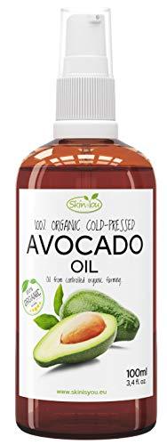 Preisvergleich Produktbild Avocadoöl 100% Reines Bio Kaltgepresst 100ml / Verbessert Kollagenbildung / hohe Konzentration an Antioxidationsmitteln / Feuchtigkeitsspendende und nahrhafte Wirkung / Dringt tief in die Haut ein