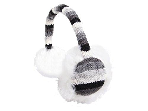 Alsino Ohrwärmer Ohrenschützer Plüsch Earmuffs (ow-10) - Farbe: grau, Ohrenwärmer
