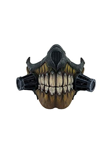 Miaoao-mask Immortan Joe Cosplay Maske, Halloween gruselige Maske (Color : Multi)