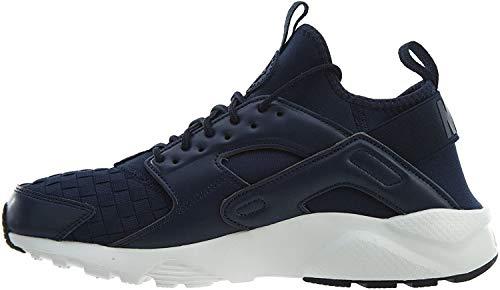 Nike Men's Air Huarache Run Ultra SE Obsidian/Neutral Indigo/Sail Running Shoe 8 Men US