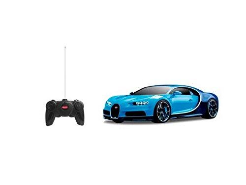 Bugatti Chiron Blue/Black Radio Remote Control Sport Racing Car RC 1/24 Scale