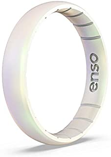 Enso Rings Thin Legend Silicone Ring   Made in The USA   Lifetime Quality Guarantee   an Ultra Comfortable, Breathable, and Safe Silicone Ring