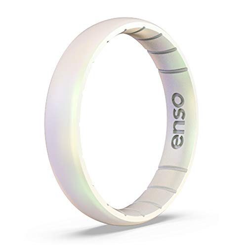Enso Rings Thin Legend Silicone Ring - Made in The USA - Ultra Comfortable, Breathable and Safe - Award Winning Customer Service (Unicorn, 5)