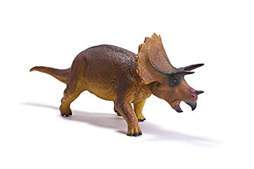 """RECUR 17.9 """"Gran Triceratops Dinosaur Toy Rampage Figurilla Modelo Realista Jurásico Dinosaurio Figuras de Acción Ideal Coleccionables Prehistóricos Niños Regalo, Edades 3+"""