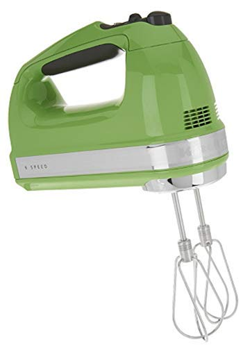 KitchenAid KHM920ga 9-Speed Most Powerful Digital Display Power Hand Mixer Green Apple (Renewed)