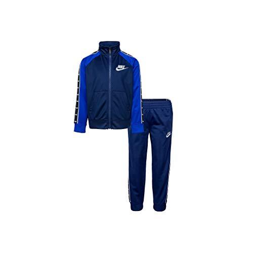Nike Swoosh Tape Tricot - Chándal para niño, color azul, 86G343-U90 turquesa 6-7 años