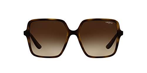 Vogue Gafas de Sol VO 5352S Havana/Brown Shaded 56/16/140 mujer