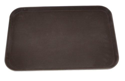 Tablett rutschfest braun 60x40 cm