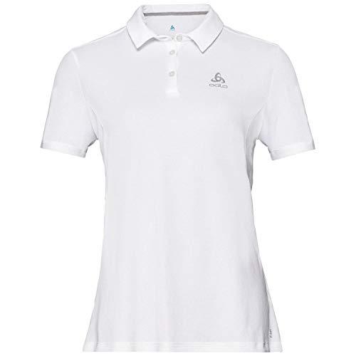 Odlo F Dry Polo Femme Blanc FR : S (Taille Fabricant : XXL)