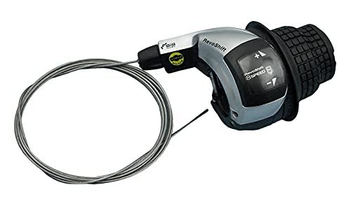 SHIMANO Unisex– Erwachsene Revo Shift Slrs45 Schaltunge, Schwarz, Einheitsgröße