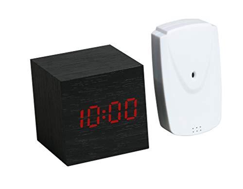 MOSUO R/éveil Num/érique Horloge Digitale R/éveil Matin Miroir LED Grand Ecran Aver Temp/érature//Snooze// 2 Alarme Activation Sonore Luminosit/é et Son R/églable USB Charge Clock pour Maison Bureau,Blanc