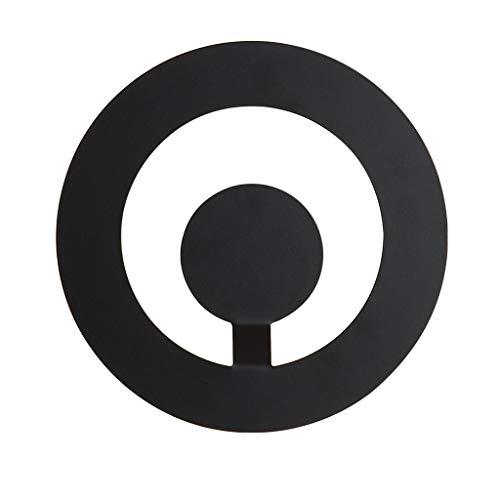 ZHAOHUIYING postmoderne LED wandlamp slaapkamer bedlampje eenvoudige acryl zwart grijs wandlamp