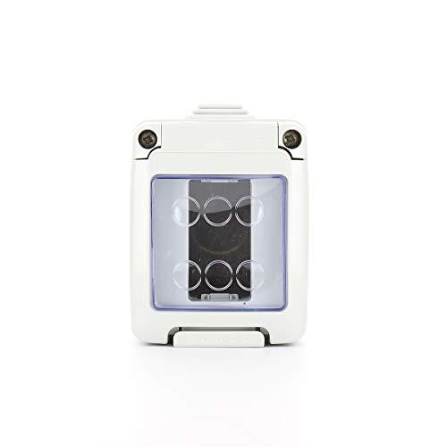 Gewiss GW27007 IP40 caja eléctrica - Caja para cuadro eléctrico (330 mm, 55 mm, 82 mm)