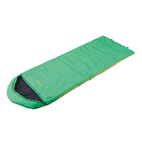 Snugpak Basecamp Nautilus Square Quilt Sleeping Bag with Right Hand Zip, Emerald Green