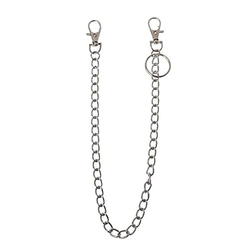 TOSISZ Punk Belt Wallet Chain Waist Pants Chain Pocket Chain with Keyring for Pants Belt Jeans Wallets Keys...