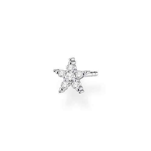 Thomas Sabo Orecchini da donna a forma di stella, in argento Sterling 925