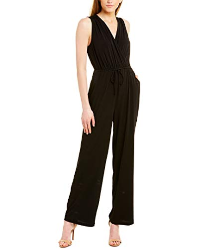 BCBGeneration Damen Overlice Jumpsuit ärmellos - Schwarz - X-Klein