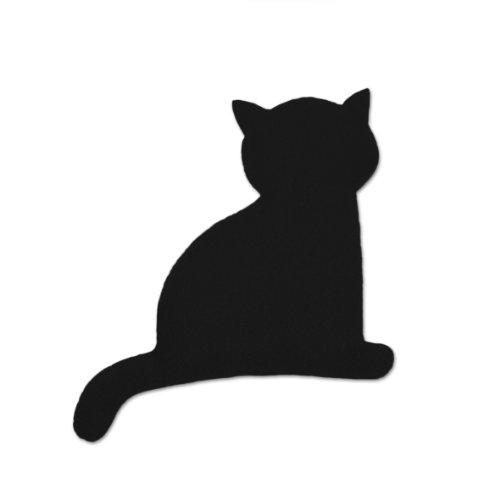 Leschi Coco le chat | 36967 Coussin chauffant pour le ventre Couleur : Feu//Minuit