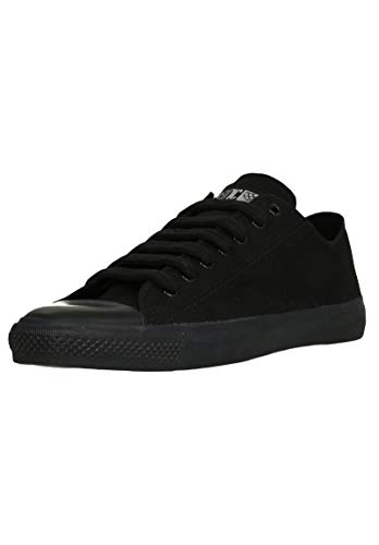 Ethletic Unisex Sneaker Lo Fair Trainer Black Cap Jet Black | Jet Black 47 Fair | Vegan | Nachhaltig