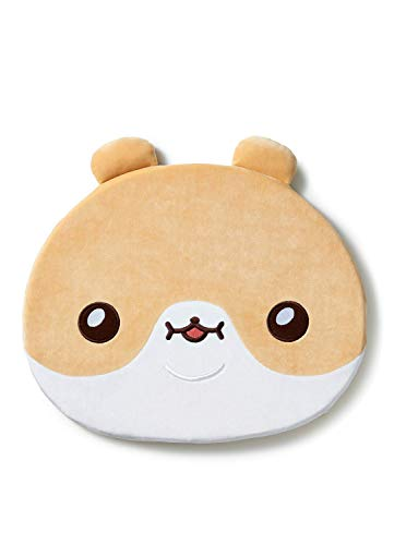 TWOTUCKGOM Collaboration with Face Seat Cusion - HAMGOM- TTG Bear Character Seat Cushion for Office Chair Car Memory Foam Sitting Desk Super Softness and Comfort Accessory
