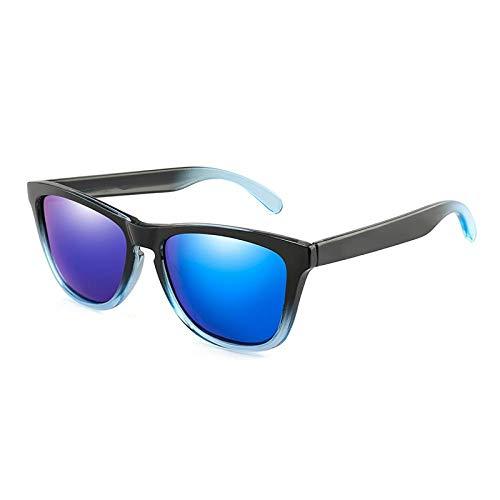 Gafas de Sol Sunglasses Gafas De Sol Polarizadas Hombres Mujeres Diseño De Marca Clásico Gafas De Sol Cuadradas Gafas De Sol Masculinas Gafas Uv400 Blackblueblue
